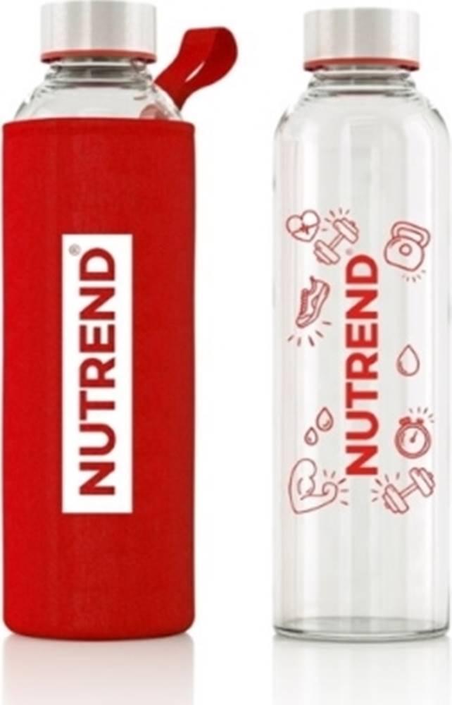 Nutrend Nutrend Sklenená fľaša s termoobalom 800 ml variant: červená