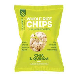 Bombus Rýžové čipsy Chia a Quinoa 60 g