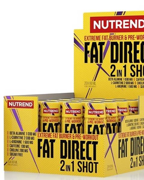 Nutrend Nutrend Fat Direct Shot 60 ml variant: bez príchuti