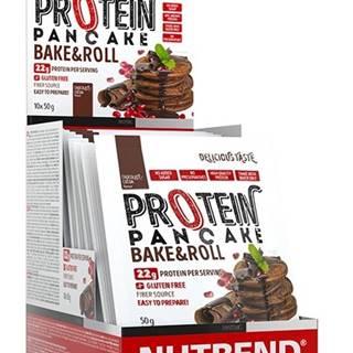 Nutrend Protein Pancake 10×50 g variant: bez príchuti