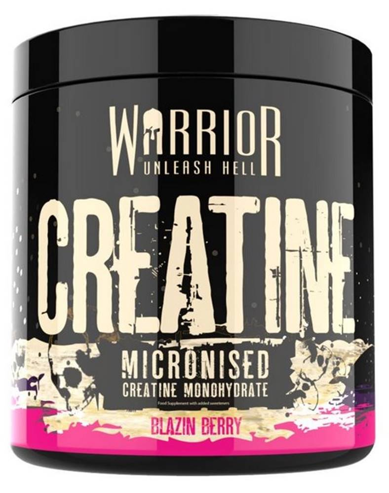 Warrior Warrior Creatine Micronised Flavoured 300 g variant: jahoda