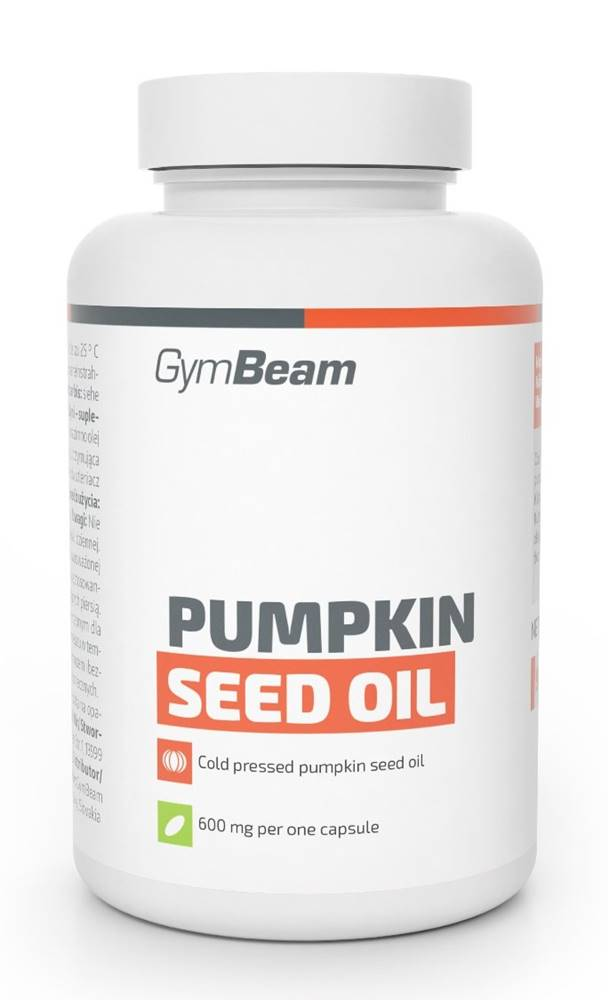 GymBeam Pumpkin Seed Oil - GymBeam 90 kaps.