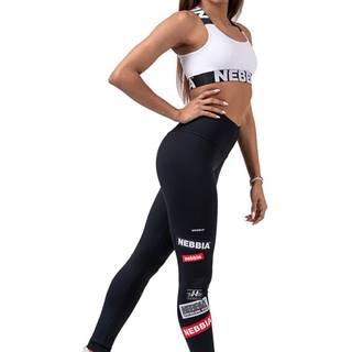 Nebbia High Waist NEBBIA Labels legíny 504 čierne variant: L
