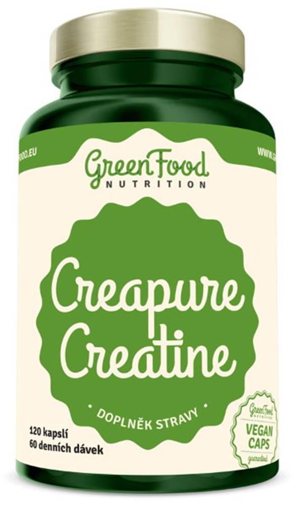 GreenFood GreenFood Pure Creatine 120 kapsúl