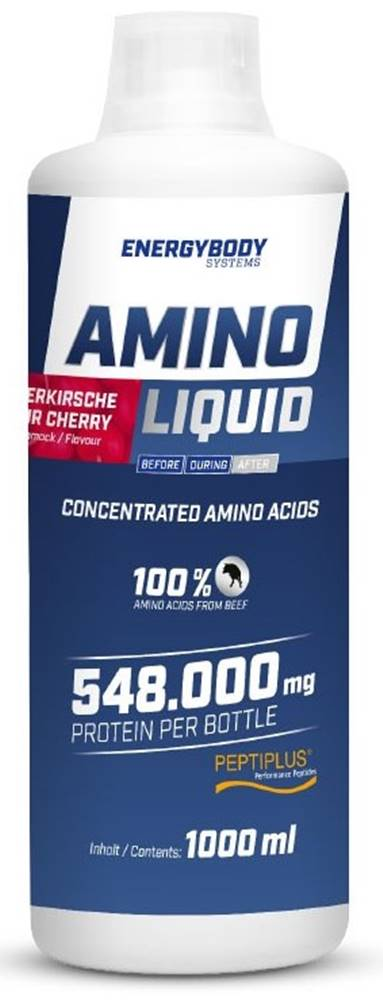 EnergyBody EnergyBody Amino Liquid 1000 ml variant: višňa