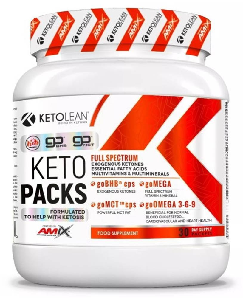 Amix Nutrition Amix Nutrition Amix KetoLean Keto goBHB KetoPack 30 vrecúšok