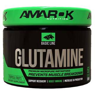 Basic Line Glutamine - Amarok Nutrition 300 g Tropical