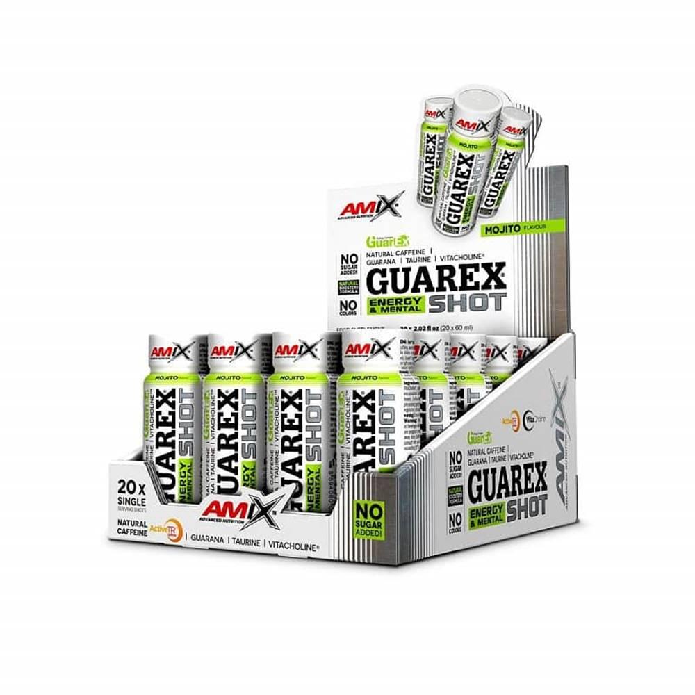 Amix Nutrition Amix Guarex Energy & Mental Shot Příchuť: Mojito, Balení (ml): 60ml